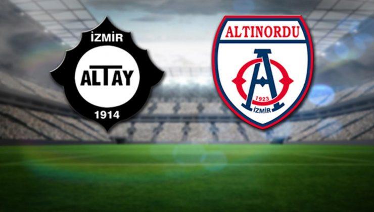 Altay ve Altınordu, İzmiri heyecanlandırıyor.