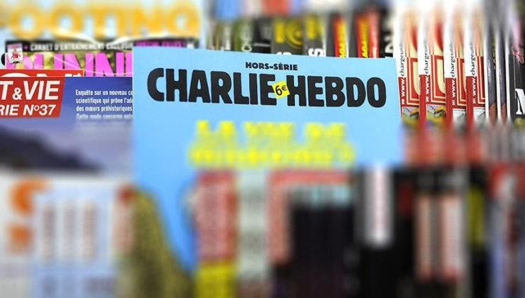 Charlie Hebdo'ya Cumhurbaşkanı'na hakaret davası.