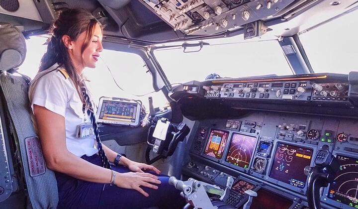 Dünyayı gezen Instagram fenomeni pilottan nefes kesen manzaralar