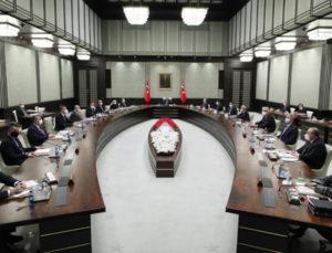 Gözler Ankara'daki Kabine toplantısında!