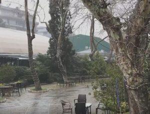 Son dakika… İstanbul'da dolu alarmı!