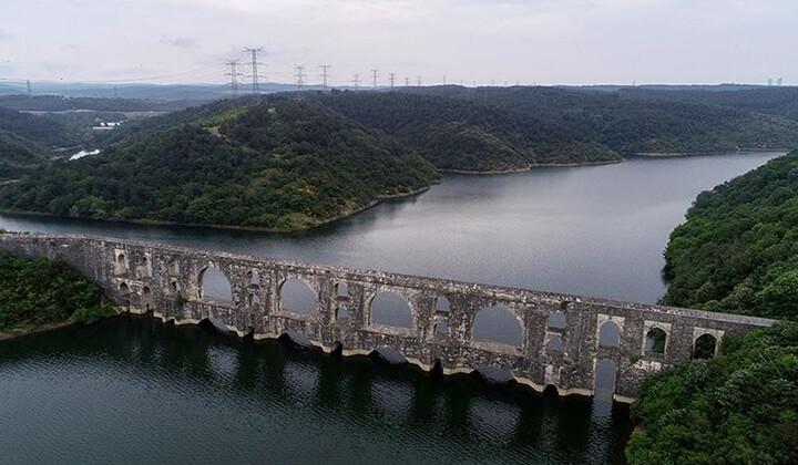 İstanbul'un barajlarındaki doluluk oranı sevindirdi.