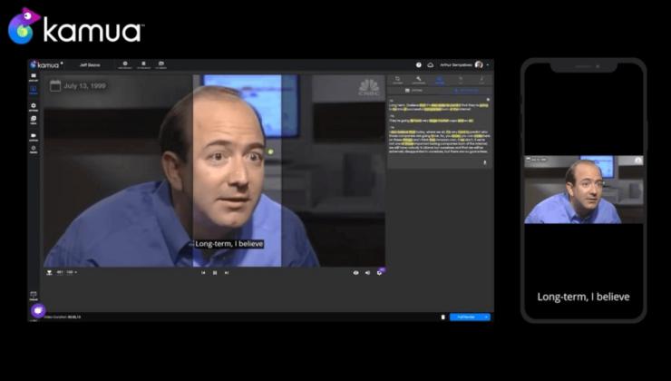 Yapay zeka desteği ile dikey videolar üretebilen platform: Kamua