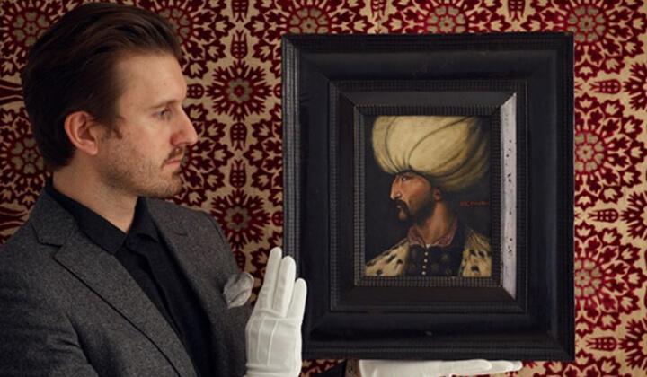 Kanuni portresinin açık arttırma fiyatı belli oldu!