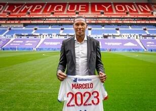 Lyon'dan Marcelo'ya yeni sözleşme