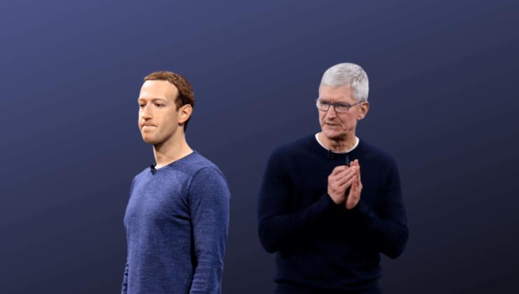 """Mark Zuckerberg, 2018'de Apple'a """"acı çektirmek"""" istedi…"""