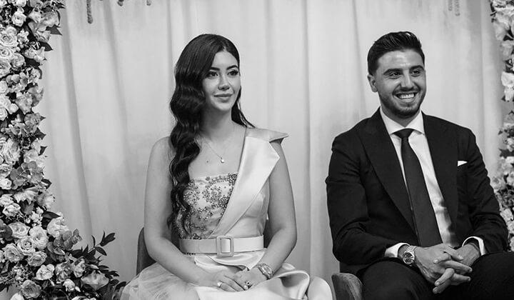 Ozan Tufan ile Rojin Haspolat evleniyor.
