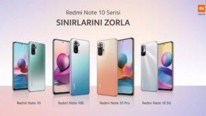 Redmi Note 10 Serisini Anlattı