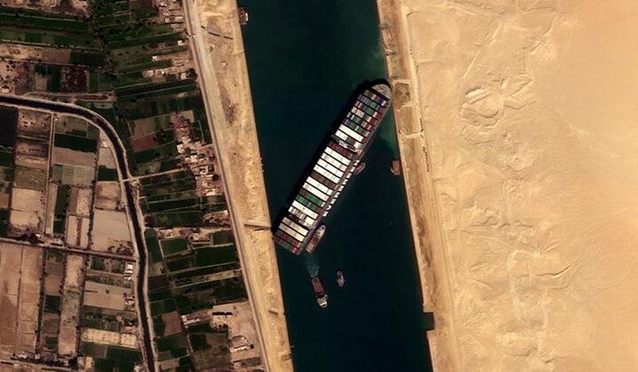 Süveyş Kanalı'nda 7. gün