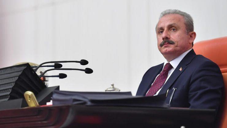 TBMM Başkanı Şentop'tan Gergerlioğlu açıklaması.