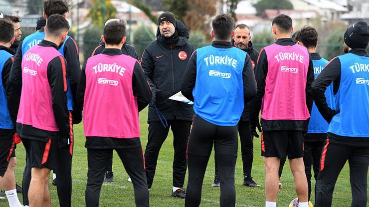 Ümit Milliler, Hırvatistan ve Sırbistan maçları için kampa girdi.