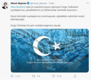 Çinin Ankara Büyükelçisi Paylaşımına Büyük Tepki