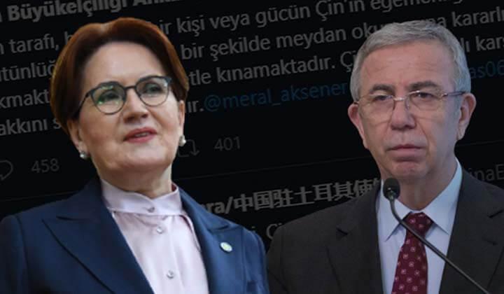 Çin Ankara Büyükelçiliği'nin paylaşımına büyük tepki!