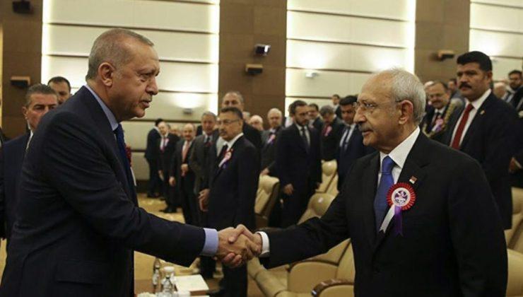 Cumhurbaşkanı Erdoğan'ı etiketleyip turkuaz tabloyu paylaşan Kılıçdaroğlu…