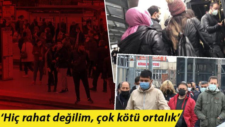 İstanbul'da toplu ulaşımdaki yoğunluk endişe veriyor