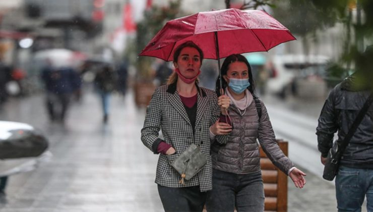 İstanbullular şemsiyeleri hazırlayın! Pazartesinden itibaren…
