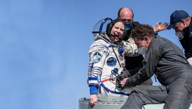 Uluslararası Uzay İstasyonu'nda görevli 3 astronot 6 ayın sonunda dünyaya döndü