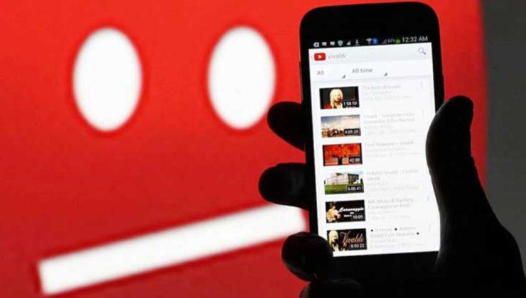 YouTube 'dislike' özelliğini kaldırıyor