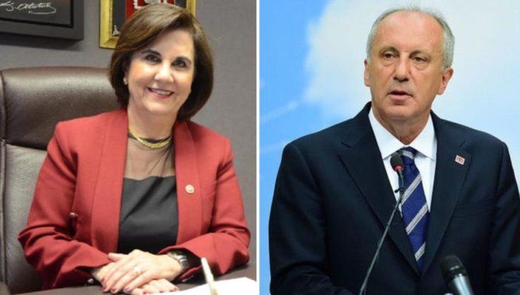 CHP'de bir Muharrem İnce firesi daha! Gaye Usluer partiden istifa etti