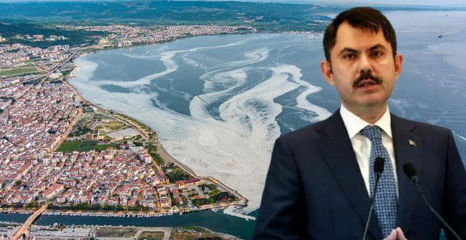 Marmara'yı esir alan deniz salyası için harekete geçildi! Bakan Kurum, 22 eylem planını madde madde açıkladı