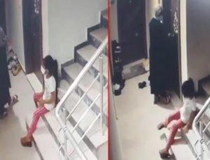 Kızına gözcülük yaptırıp, çelik kapıları 30 saniyede açan kadın kameralara yakalandı
