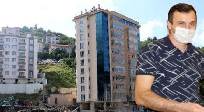 Kastamonu'da çöken binanın müteahhidi gözaltına alındı