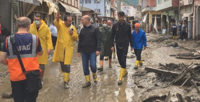 Selin vurduğu Bozkurt'a, afet tecrübesi olan Dereli Kaymakamı atandı